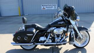 6. For SALE $6,599:  2004 Harley Road King Classic