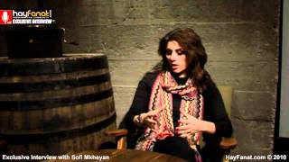 Sofi Mkheyan ? Exclusive HayFanat Video Interview [HD]