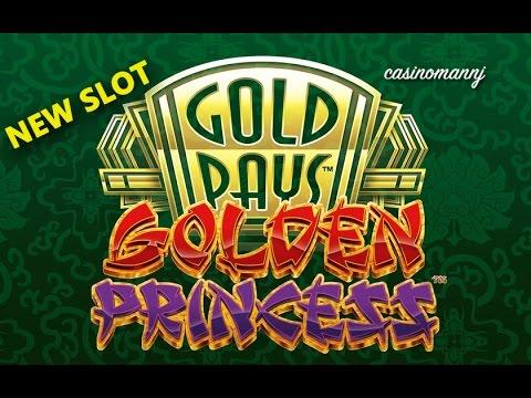 NEW SLOT! Golden Princess Slot - Progressive Win - Slot Machine Bonus