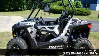 10. 2016 Polaris RZR 900 EPS Trail Matte Turbo Silver  - Acti...