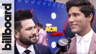 Dan + Shay on Why 'Tequila' Was THE Song to Promote Upcoming Album | ACM 2018