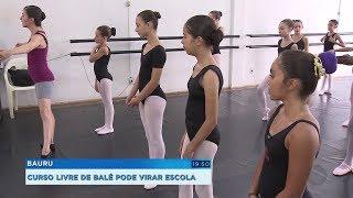 Bauru: cursos livres podem se transformar em profissionalizantes, inclusive balé