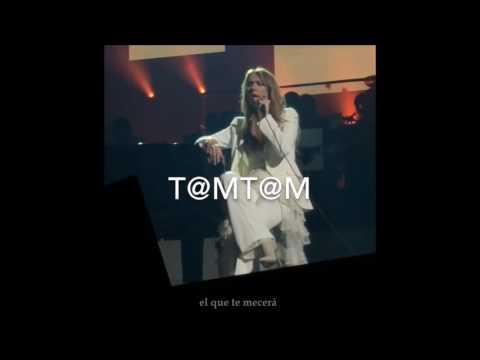 """Céline Dion -""""À La Plus Haute Branche""""- NEW SONG 2016 LIVE (Sub. español)"""