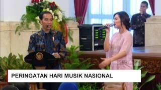 Video Raisa Minta Sepeda ke Jokowi ; Saat Presiden Jokowi Cari Raisa di Peringatan Hari Musik Nasional MP3, 3GP, MP4, WEBM, AVI, FLV Oktober 2018