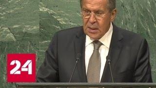Лавров: Россия не допустила распад Сирии