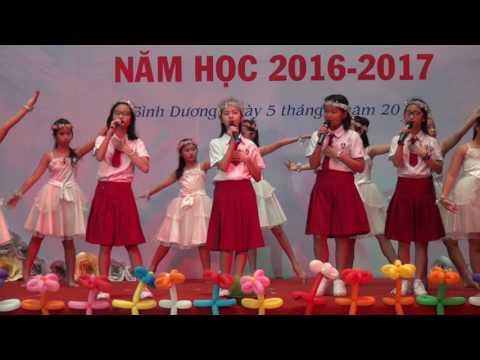 LỄ HỘI KHAI TRƯỜNG NĂM HỌC 2016-2017 -VIỆT ANH NGÀY KHAI TRƯỜNG
