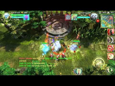 Скриншоты игры Heroes of Order and Chaos android