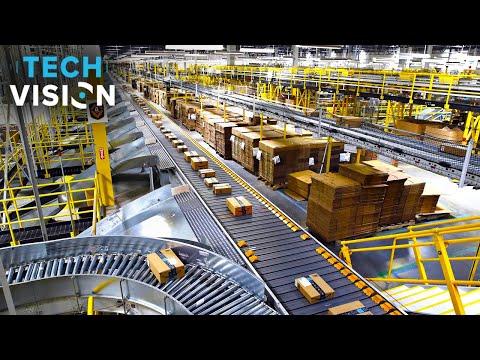 Inside Amazon's Smart Warehouse