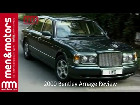 2000 Bentley Arnage Review