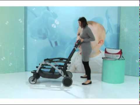 Прогулочная коляска для двойни CAM TWIN PULSAR (синий)