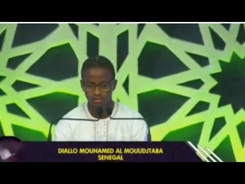 Diallo Muhammad Al Mouudjtaba The international Quran recitation winner