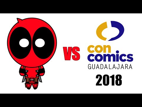 Deadpool vs ConComics Guadalajara 2018