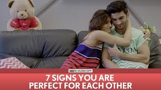 Video FilterCopy | 7 Signs You Are Perfect For Each Other | Ft. Sushant Singh Rajput and Kriti Sanon MP3, 3GP, MP4, WEBM, AVI, FLV Oktober 2017