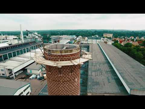 Spectair performs a chimney inspection with Elios: Access the most inaccessible places!