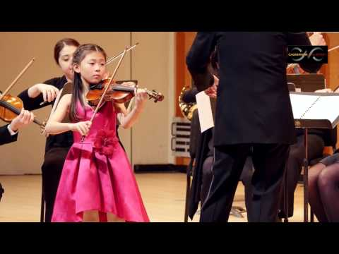 CAI Competition 2017 - Elizabeth Lee, violin