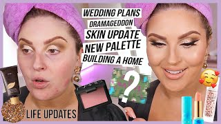 GRWM life update 💬 wedding delays? new business! dramageddon, building a dream house & more by Shaaanxo