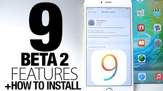 iOS 9 Beta 2 New Features Review + How To Install, ios 9, ios, iphone, ios 9 ra mat