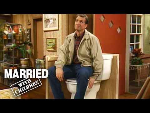 Al Builds A Bathroom! | Married With Children