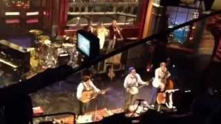 Mumford & Sons - Lover's Eyes (Live on Letterman, 9/21/2012)