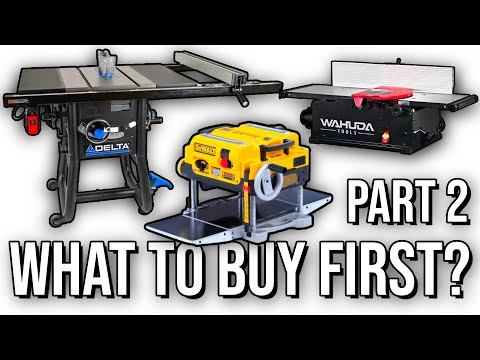 Part 2 | What Order and When To Buy The Big Woodworking Tools | Live Edge Episode 5