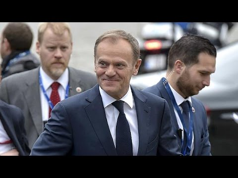Επανεξελέγη πρόεδρος του Ευρωπαϊκού Συμβουλίου ο Ντόναλντ Τουσκ