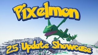 Pixelmon Update 2.5 (1.6.4) Mod Reveal Showcase + 2nd Region Pokeballers Open