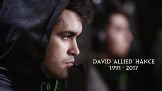 "Former smash pro David ""Allied"" Hance tribute from Hi-Rez"