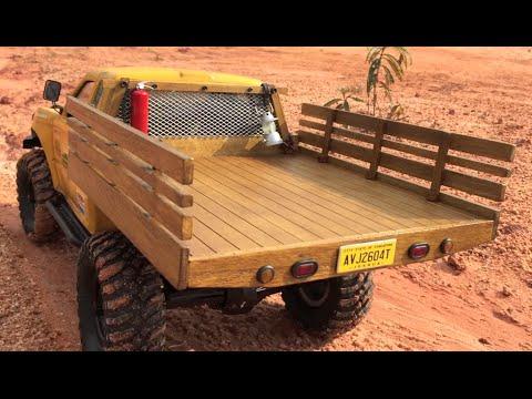Wooden Truck Bed Plans Woodworking DIY Plan