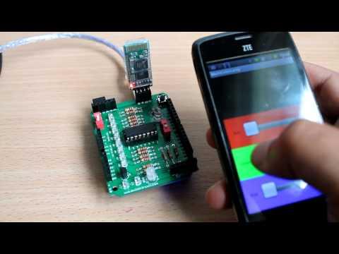 Amarino 3.0 DIY shield Videos