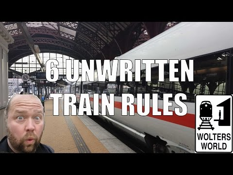 Unwritten Rules Of European Train Travel