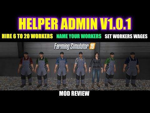 HelperAdmin v1.0.1