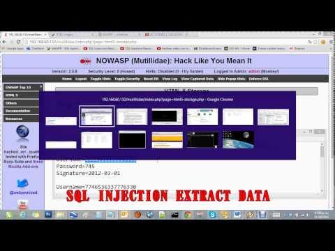 Sql Injection Extract Data [Inyeccion De Codigo]