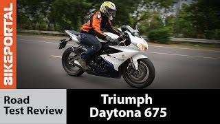 3. Triumph Daytona 675 ABS - Test Ride Review- Bikeportal