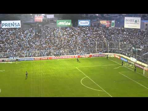 Festejo de los hinchas de Atlético Tucumán CAT - CASM Copa Argentina - La Inimitable - Atlético Tucumán