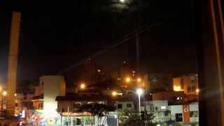 9 de Julho - Lua (Jundiaí) 26/04/13 - [Time Lapse]