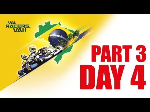 Rotax Max Challenge Grand Finals 2018 - Brazil - 1 Dec - Part 3