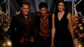KBC 3 - Sharukh Khan With Salman & Katrina
