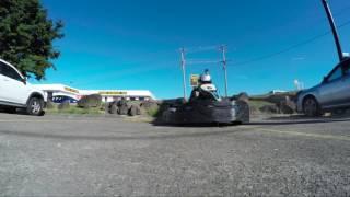 Freerunner versus Go Kart by Sasha DiGiulian