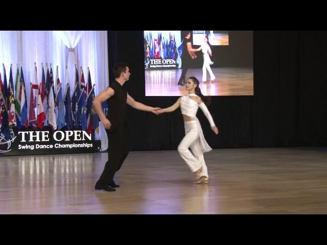 Semion Ovsiannikov & Maria Elizarova US Open 2016 Classic Division