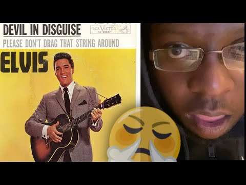 FIRST TIME HEARING Elvis Presley - (You're The) Devil in Disguise (Official Audio) REACTION