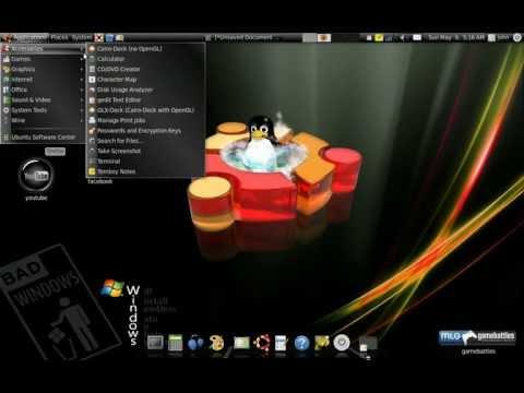 ubuntu 10.04 desktop effects