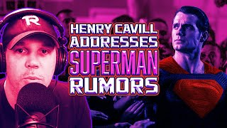 Henry Cavill Addresses SUPERMAN Rumors! - SEN LIVE #164 by Schmoes Know