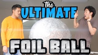 Video The Ultimate Foil Ball (definitely clickbait) MP3, 3GP, MP4, WEBM, AVI, FLV Desember 2018