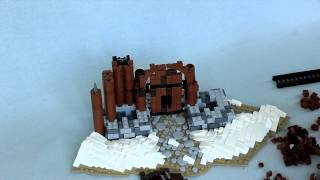 Brickbuilt LEGO Timelapse: Nordheim Gatehouse