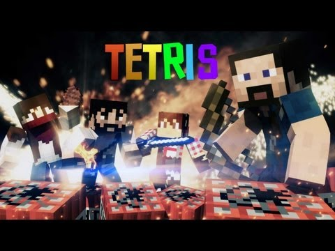 TETRIS: Minecraft MiniGame