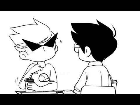 date - Relax, I'm sure he's just as nervous as you are. Original comic here: http://hubedihubbe.tumblr.com/post/42708552961/dirks-nervous-on-dates-with-jake Dirk wa...