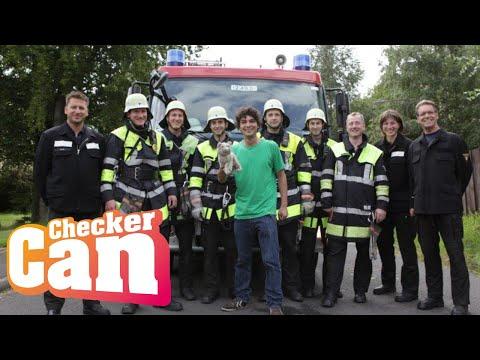 Der Feuerwehr-Check | Reportage für Kinder | Checker Can (видео)