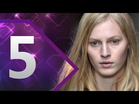 Julia Nobis - http://www.FashionTV.com/videos WORLD - A First Face is the model who opens a runway show and represents the brand for that season in doing so. FashionTV cou...
