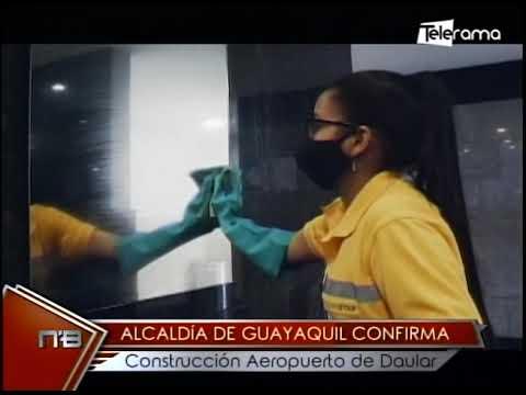 Alcaldía de Guayaquil confirma construcción aeropuerto de Daular