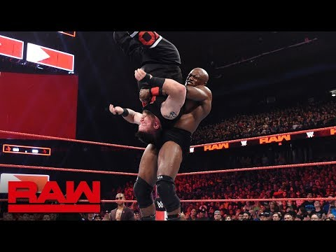 Bobby Lashley Vs. Kevin Owens: Raw, Oct. 8, 2018